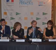 El embajador de Francia en España, Yves Saint-Geours, inauguró oficialmente la primera edición de la TIFE, la Temporada de 2016 del Instituto francés de España