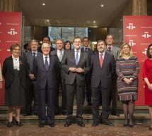 """Mariano Rajoy reivindica en el Instituto Cervantes la lengua española y anima a leer """"El Quijote"""""""