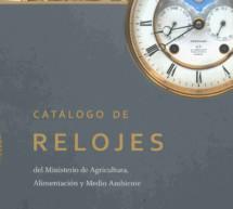 El Catalogo de Relojes del MAGRAMA recopila trabajos de maestros relojeros de los siglos XIX y XX
