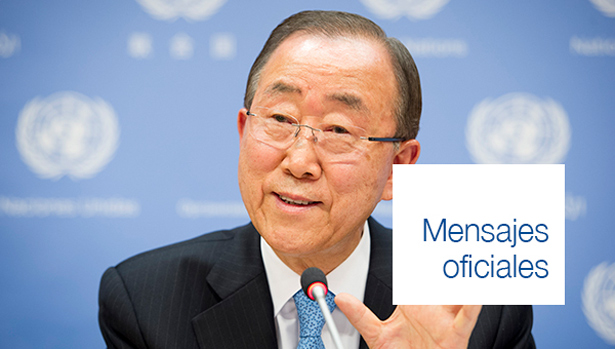 Mensajes de Ban Ki-moon, Secretario General de las Naciones Unidas y Taleb Rifai, Secretario General de la OMT