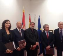 """La pintura serbia con """"Ángeles"""" se muestra en Madrid"""