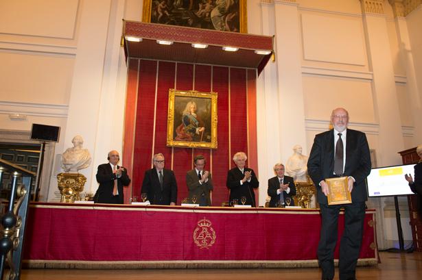 Enrique Nuere recoge el Premio de Arquitectura Rafael Manzano