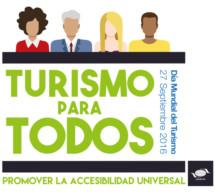 Día Mundial del Turismo de 2016: Los líderes del turismo se comprometen a impulsar la accesibilidad universal