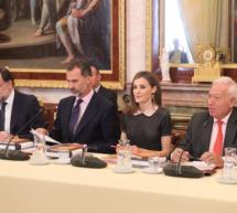 Los Reyes de España presidieron la reunión anual del Patronato del Instituto Cervantes