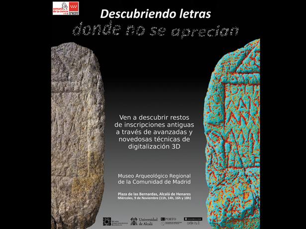 La Universidad de Alcalá y el Museo Arqueológico Regional presentan un nuevo sistema de lectura epigráfica