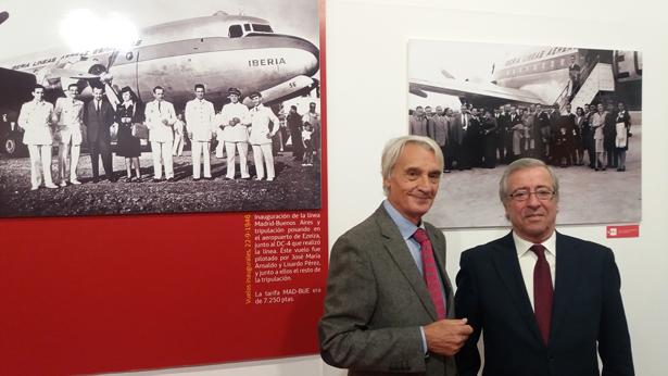 """Iberia inaugura en Casa de América su exposición """"70 años en América Latina"""""""