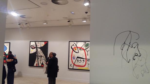 Más de 60 obras de Joan Miró se exponen de forma permanente en un nuevo espacio en la Fundación Mapfre