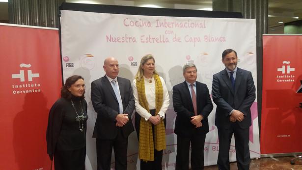 El Instituto Cervantes e INTERPORC divulgan las mejores recetas elaboradas con cerdo blanco