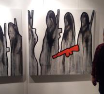 """El artista Colo presenta su exposición """"MINISTERIO"""" una denuncia de la injusticia, la avaricia, el terror, la muerte gratuita y, la poca libertad que dejan al ser humano"""
