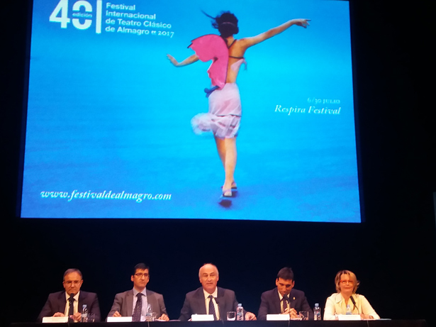 Presentación de la programación de la 40ª edición del Festival Internacional de Teatro Clásico de Almagro