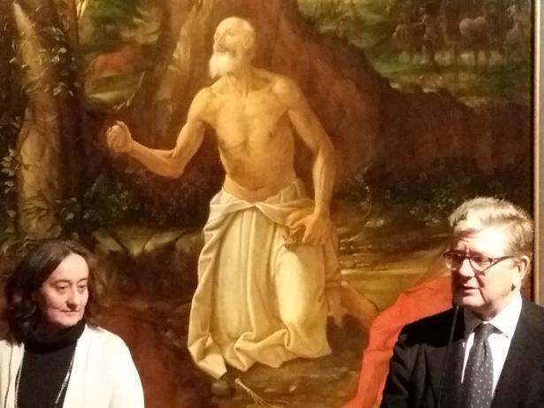 Patrimonio Nacional expone obras de Navarrete en San Lorenzo de El Escorial