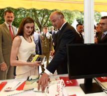 SS.MM. los Reyes inauguran la 76ª edición de la Feria del Libro de Madrid