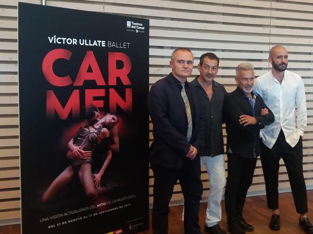 ´Carmen` de Víctor Ullate se presenta en el Teatro Real