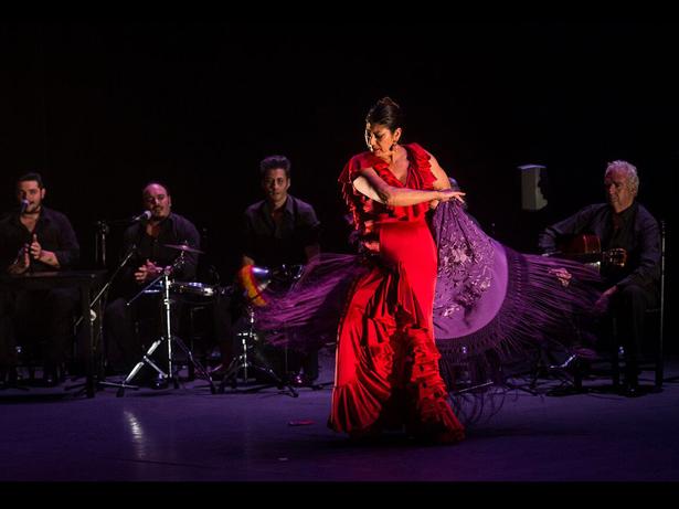 Festival Suma Flamenca. Manuela Carrasco. Foto: David Mudarra