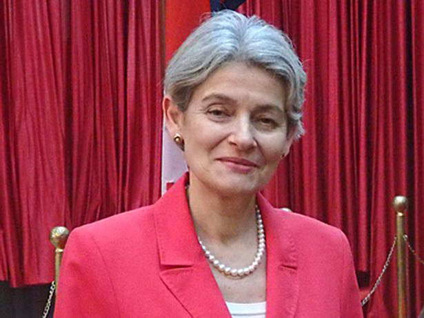 UNESCO. Irina Bokova en Nepal
