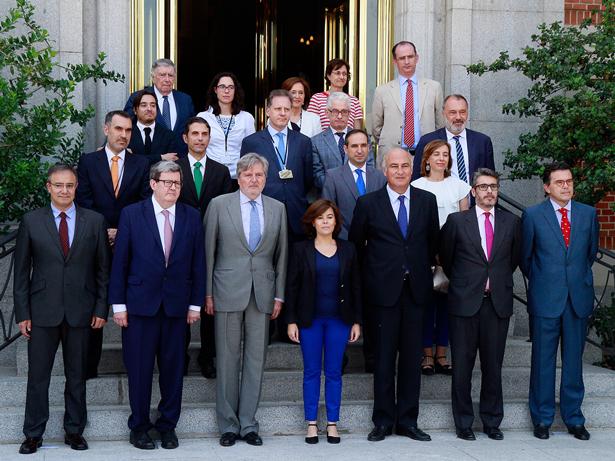 Reunión plenaria de la Comisión Nacional del IV Centenario de la muerte de Miguel de Cervantes