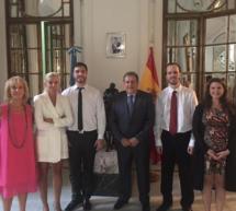 Gran concierto de piano en la Embajada Argentina en Madrid