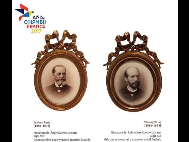 Ángel y Rufino José Cuervo imagen cortesía Instituto Caro y Cuervo