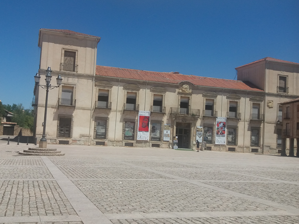 Palacio Ducal de Medinaceli en el que se celebra el Festival de Ópera. Foto: © patrimonioactual.com