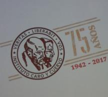 El Instituto Caro y Cuervo celebró en Madrid sus 75 años