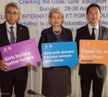 La Directora General de la UNESCO inaugura el coloquio internacional 'Descifrar las claves' para acabar con las desigualdades de género en materia de STEM