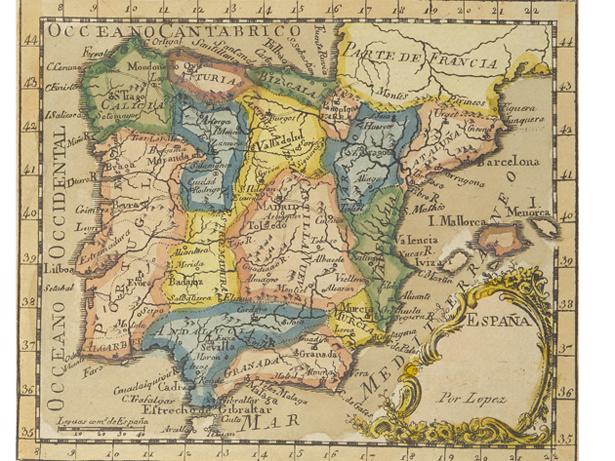 La BNE adquiere el primer atlas portátil en la historia de la cartografía española