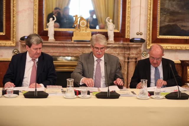 El Patronato del Instituto Cervantes celebró su reunión anual en el Palacio Real de Aranjuez
