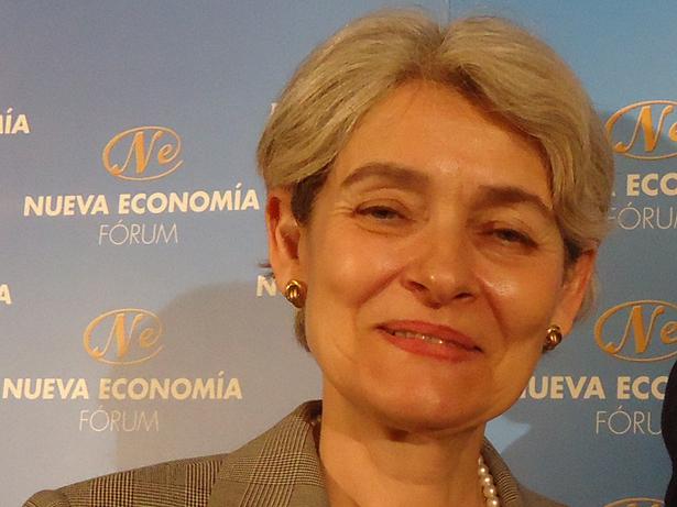 Irina Bokova, directora general de la UNESCO. Foto © patrimonioactual.com