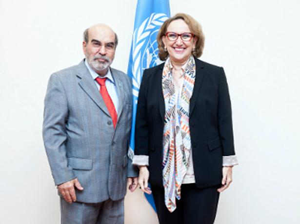 Graziano da Silva y Rebeca Grynspan acuerdan la renovación del acuerdo de cooperación entre ambas instituciones