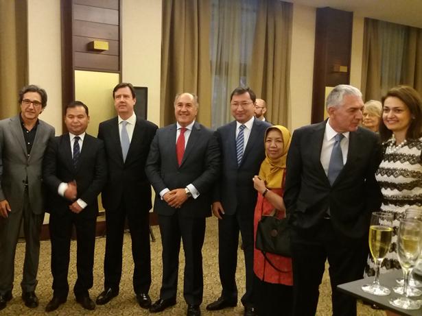 Uzbetistán celebra su Fiesta Nacional en Madrid con motivo del 26 Aniversario de Independencia
