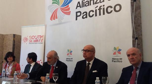 Los embajadores de Colombia, Chile, Perú y un representante de México presentan en Madrid el South Summit-Alianza del Pacífico que se celebrará en Bogotá