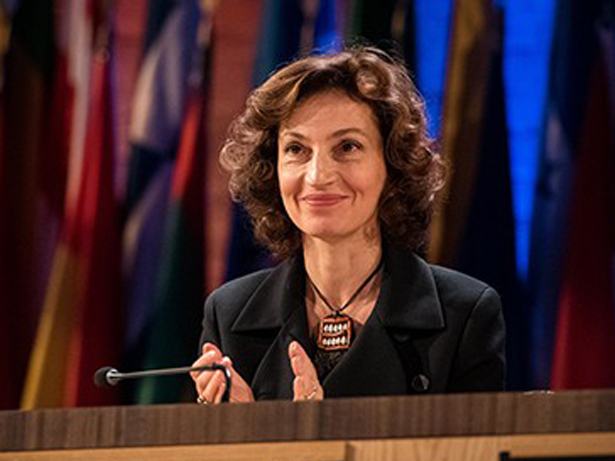 Audry Azoulay, Directora General de la UNESCO. Foto: © C.Alix