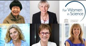 """Cinco científicas galardonadas con los premios L'Oréal-UNESCO """"La Mujer y la Ciencia"""" 2018"""