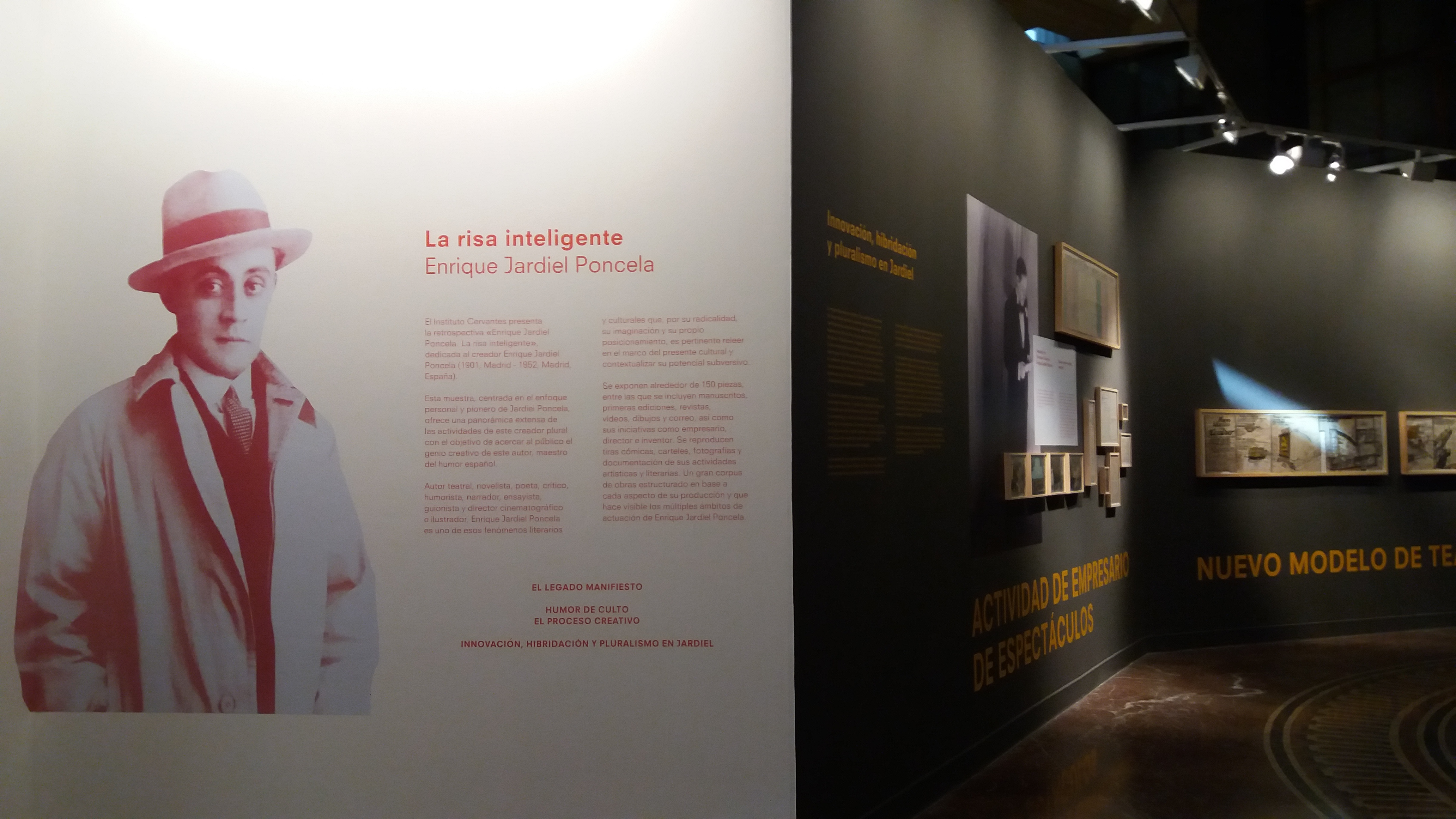 Dos nuevas exposiciones en la sede central del Instituto Cervantes de Madrid