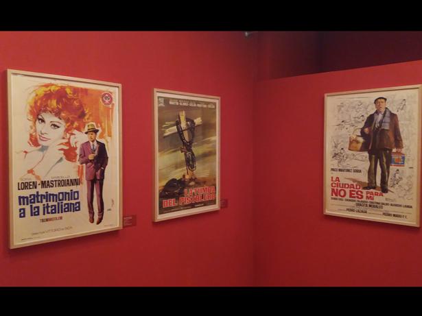 Los Carteles de cine de Jano protagonistas de una exposición