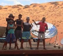 El cambio climático atañe a los jóvenes en pleno desierto de Namibia