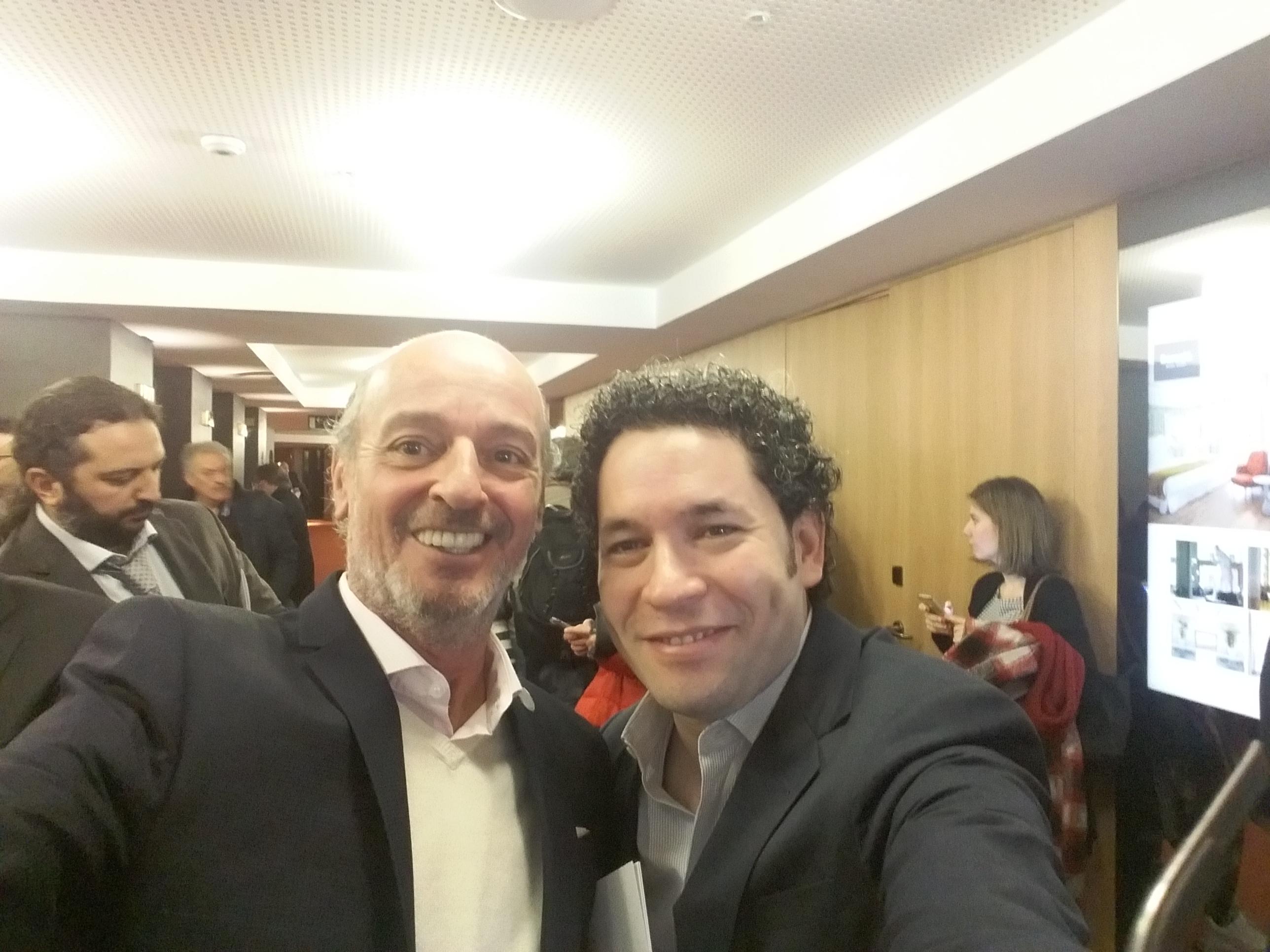 Conversación con el maestro Gustavo Dudamel, Director de Orquesta
