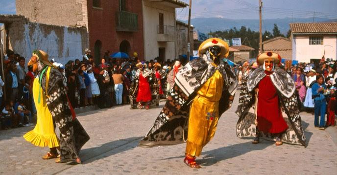 UNESCO CORREO La huaconada, danza ritual de Mito (Peru)