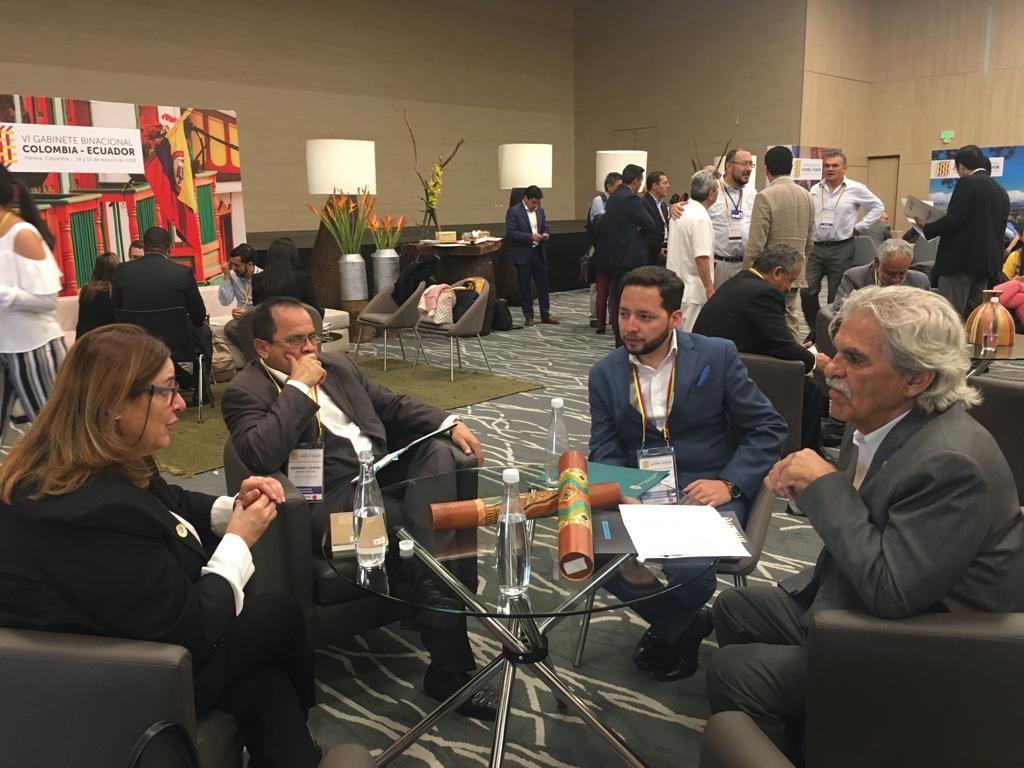 MinCultura participó en el VI Gabinete Binacional Colombia-Ecuador en Pereira