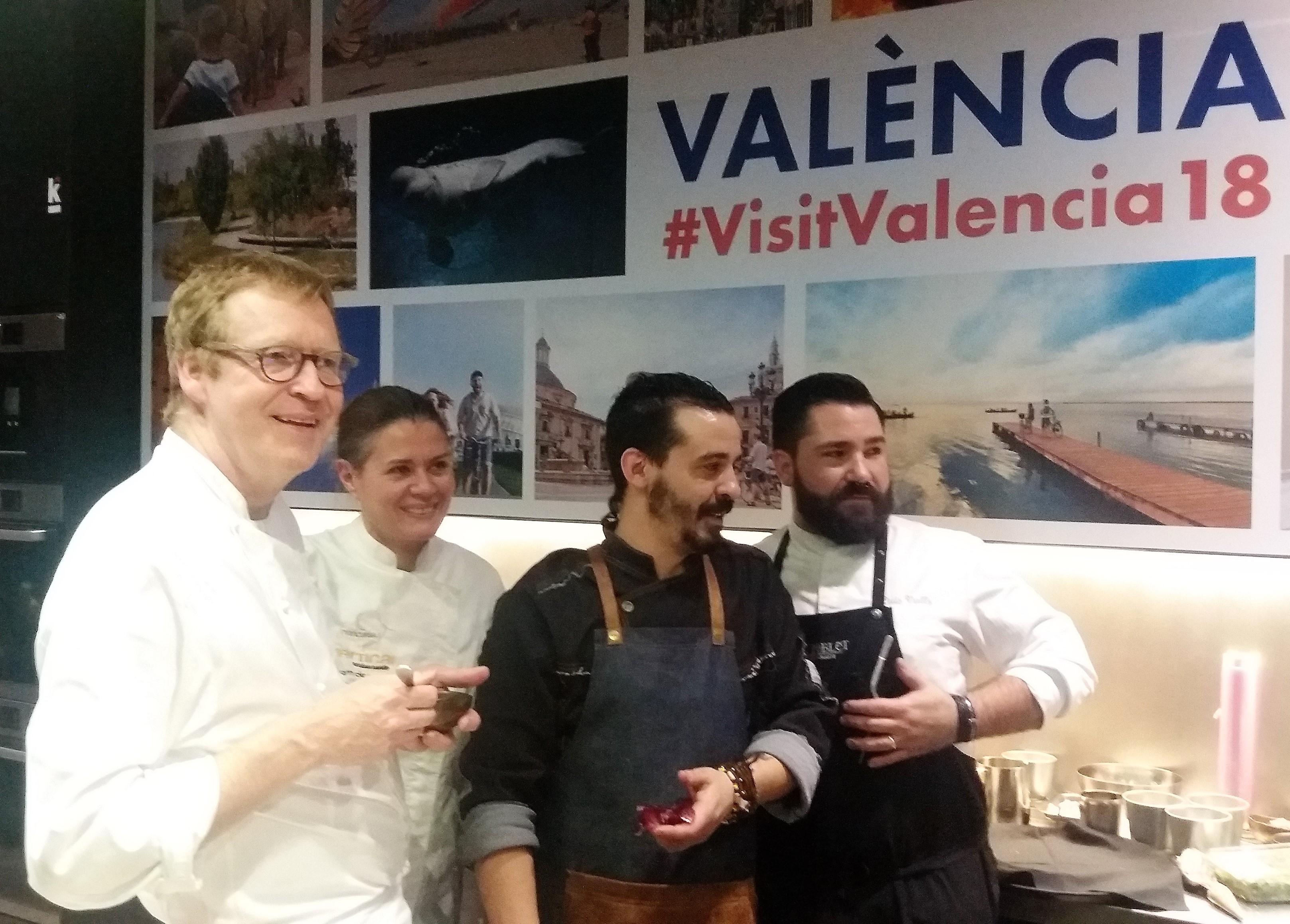 Madrid se llena por una noche de las estrellas Michelin de Valencia